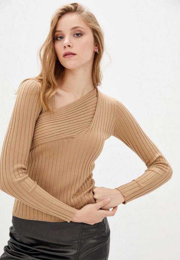 женский пуловер pinko, бежевый