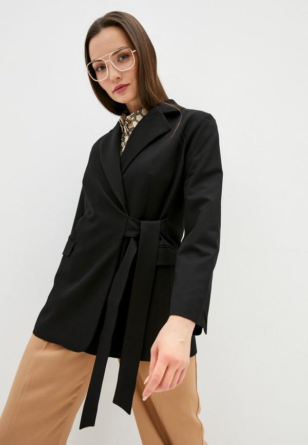 женский пиджак delia, черный