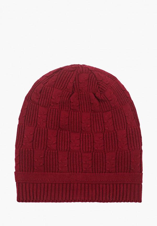 женская шапка moltini, бордовая