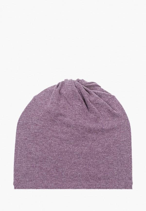 женская шапка moltini, фиолетовая
