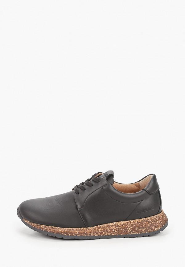 женские низкие кроссовки birkenstock, черные