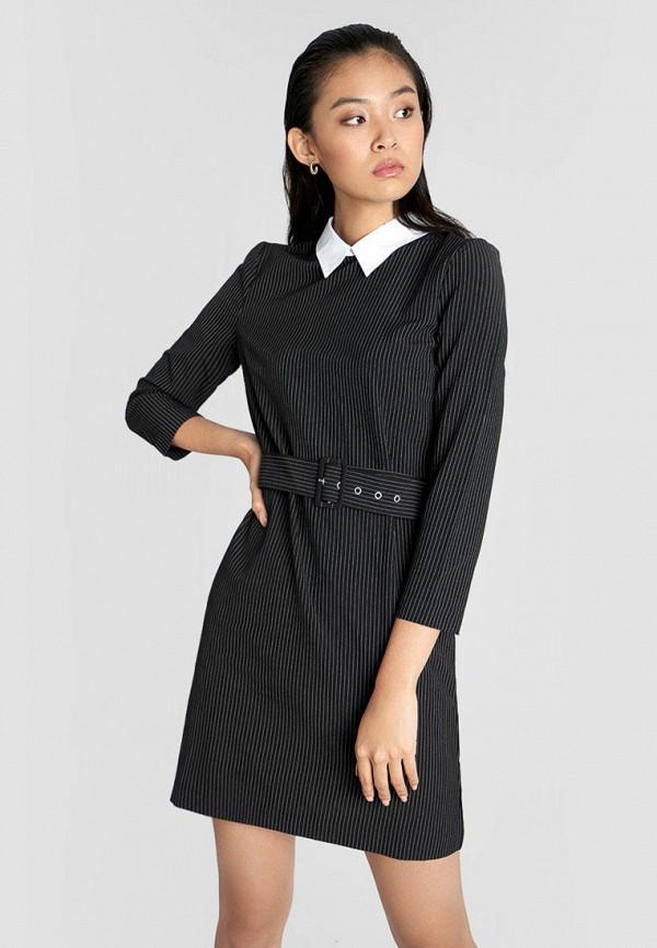женское повседневные платье o'stin, черное
