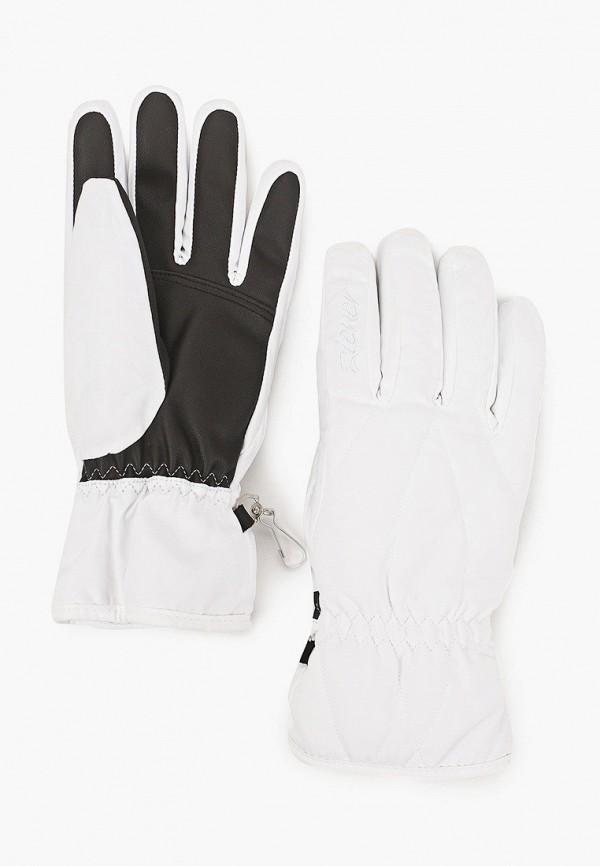 женские текстильные перчатки ziener, белые