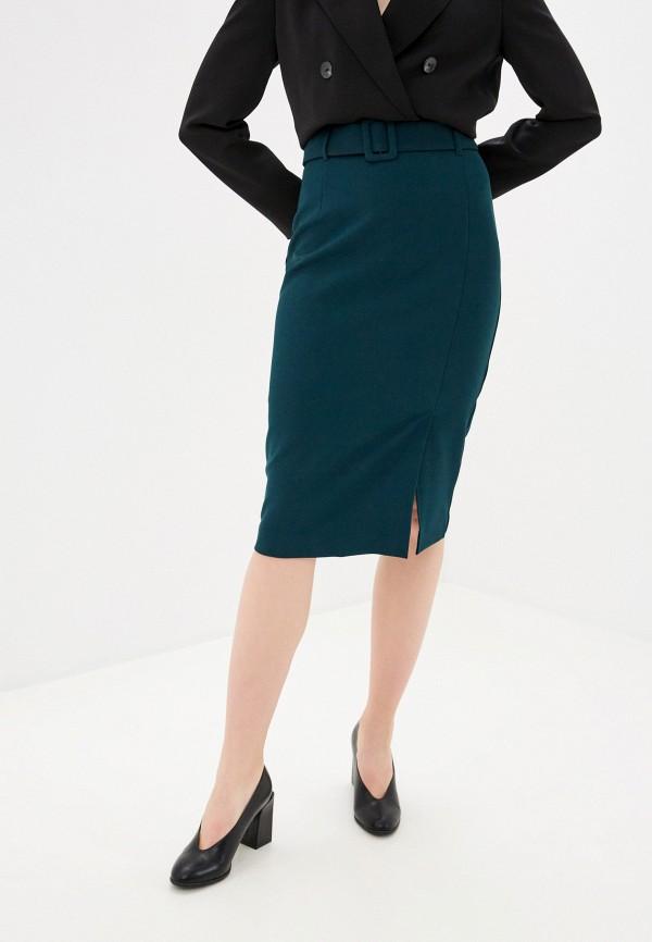 женская прямые юбка bezko, зеленая