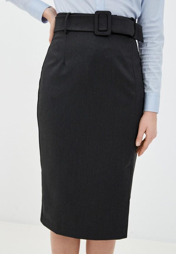женская прямые юбка bezko, серая