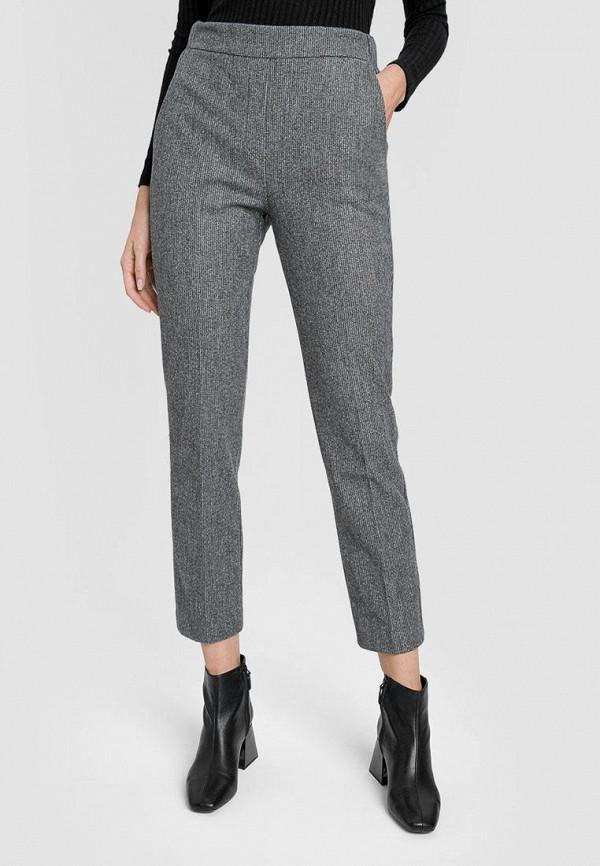 женские повседневные брюки o'stin, серые