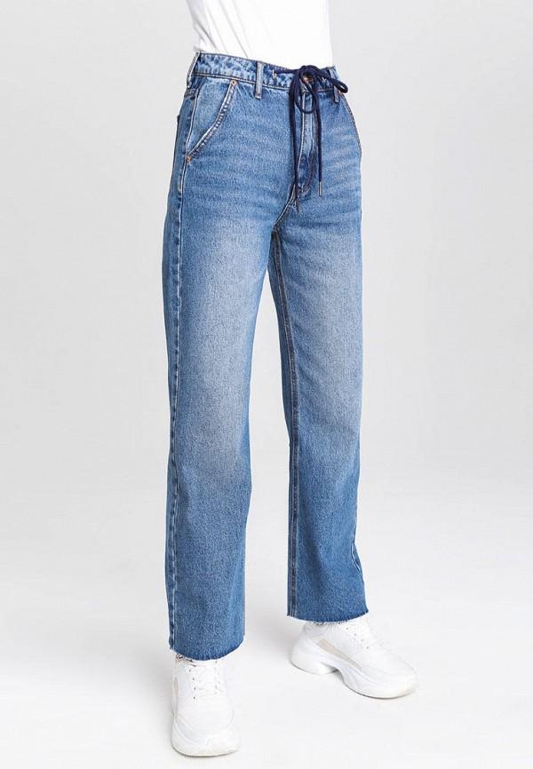женские прямые джинсы o'stin, синие
