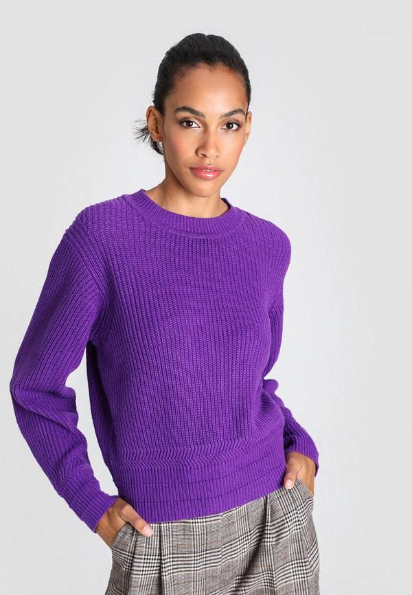 женский джемпер o'stin, фиолетовый