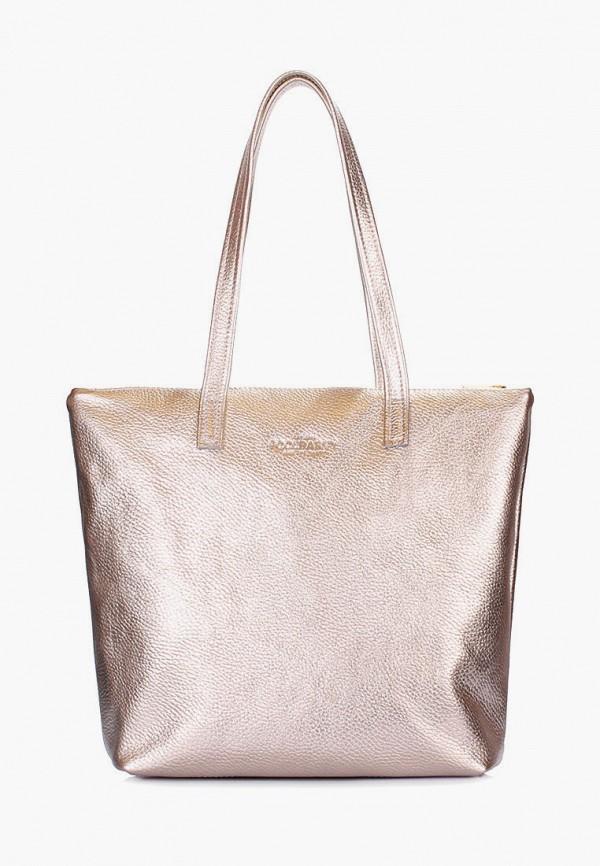 женская сумка poolparty, золотая