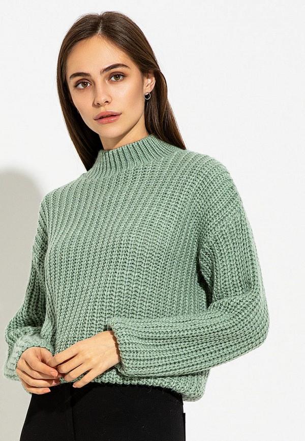 женский свитер itelle, зеленый