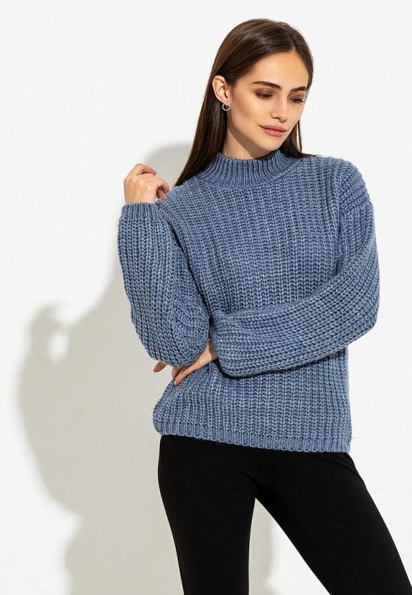 женский свитер itelle, синий