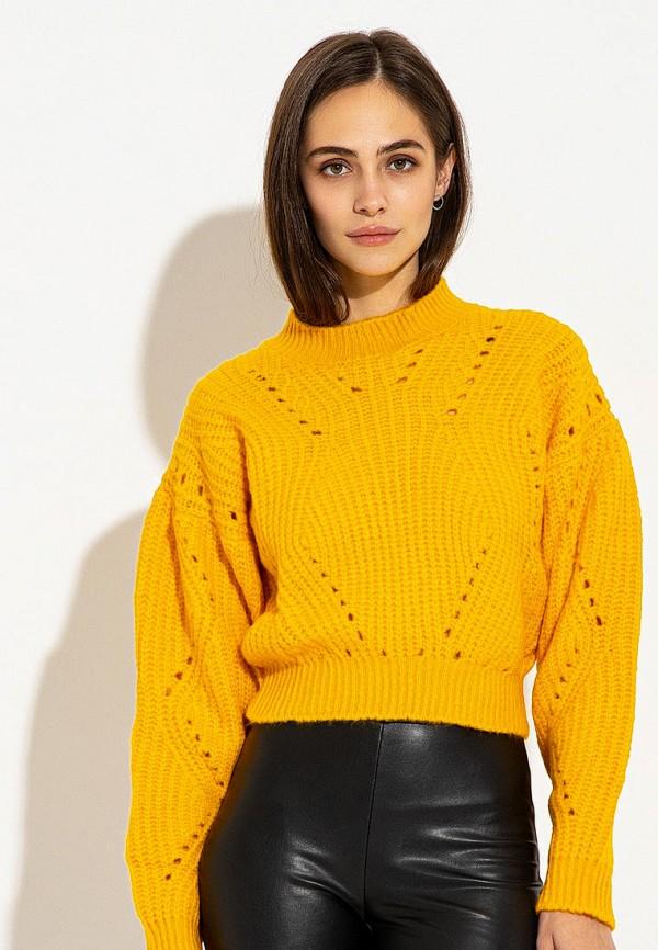 женский джемпер itelle, желтый