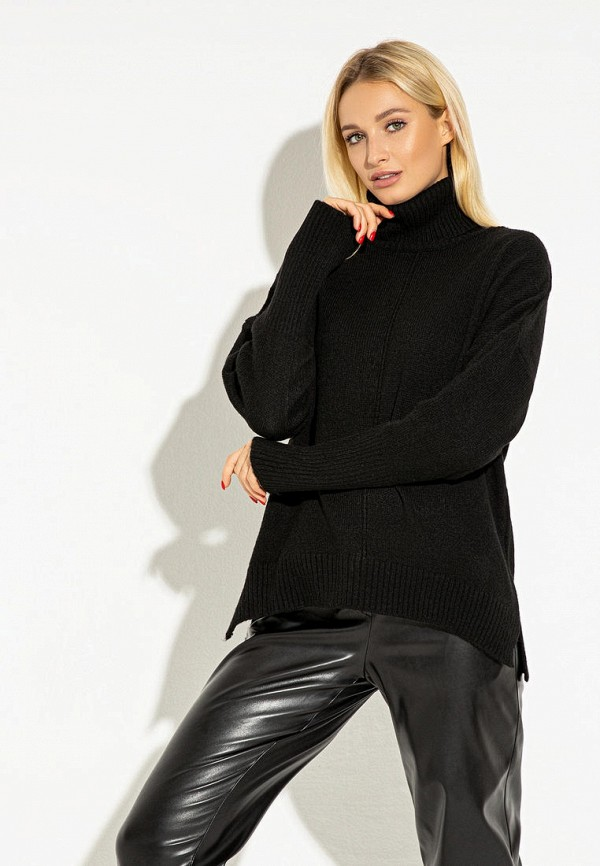 женский свитер itelle, черный