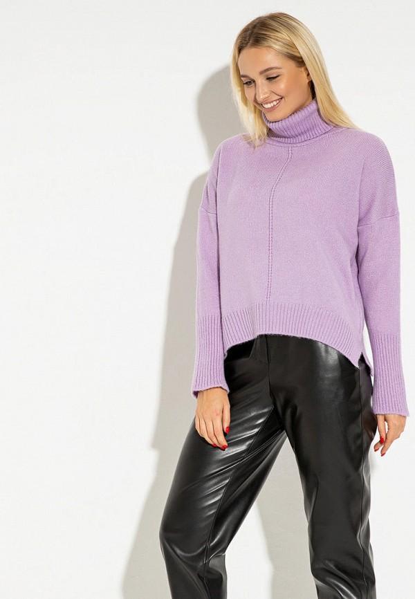 женский свитер itelle, фиолетовый
