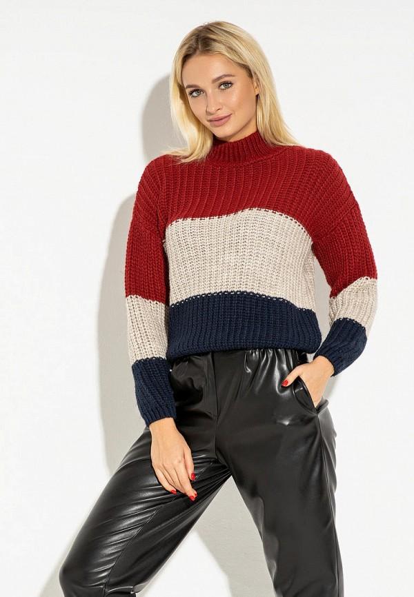 женский свитер itelle, разноцветный