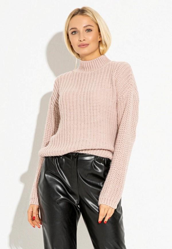 женский свитер itelle, розовый