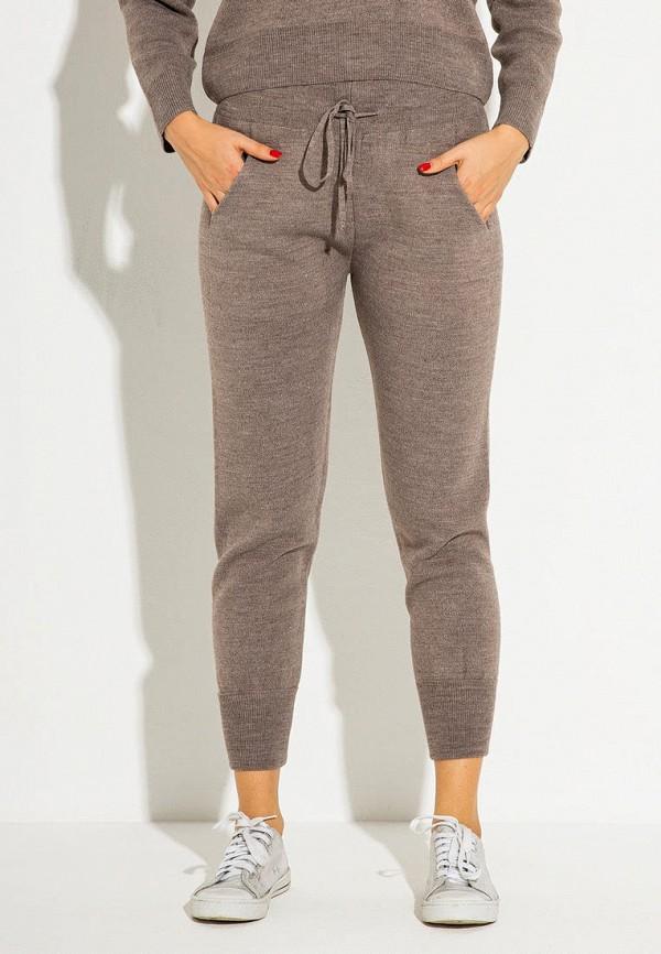 женские повседневные брюки itelle, коричневые