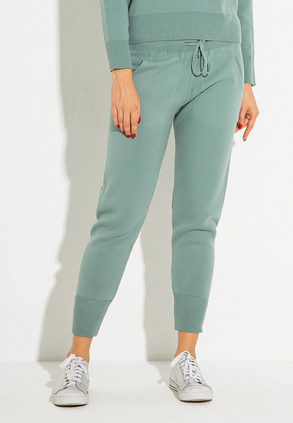 женские повседневные брюки itelle, бирюзовые