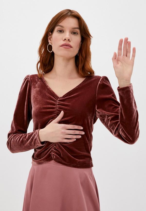 женская блузка sela, фиолетовая