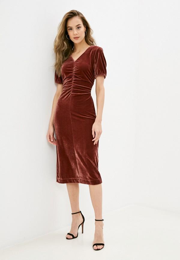 женское вечерние платье sela, розовое
