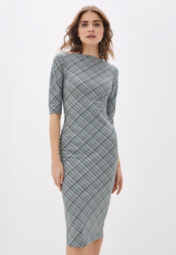 женское платье-футляр ruxara, зеленое