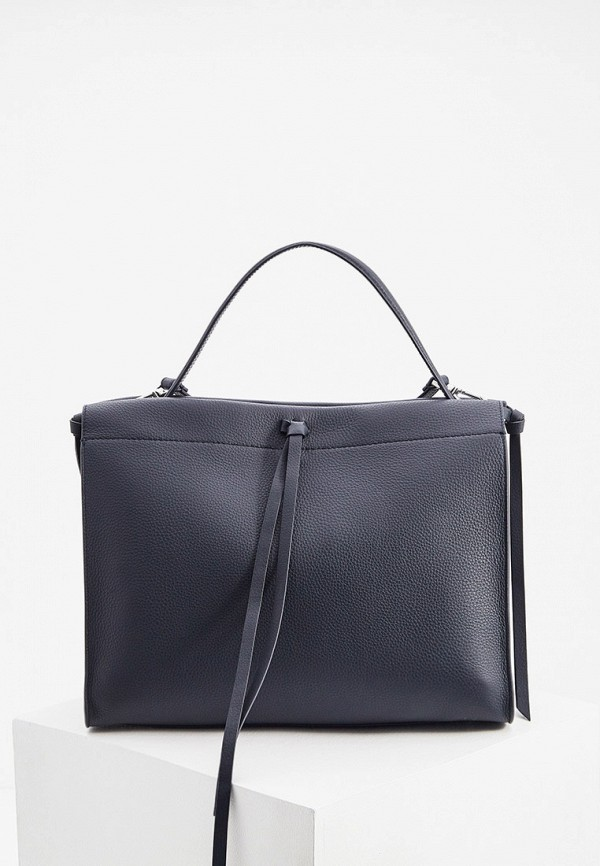 женская сумка-тоут boss, синяя