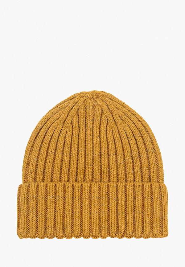 женская шапка labbra, желтая