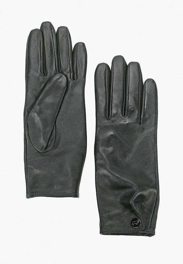 женские кожаные перчатки labbra, зеленые