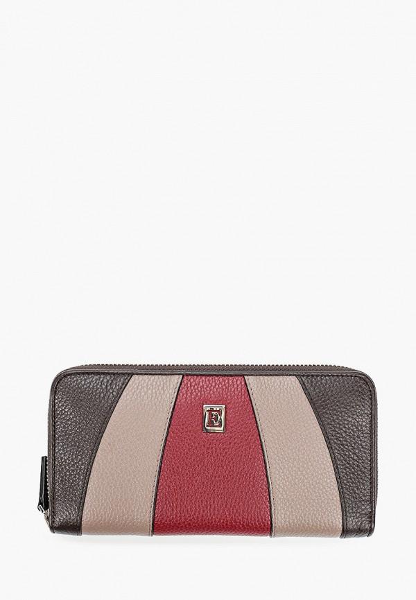 женский кошелёк eleganzza, коричневый