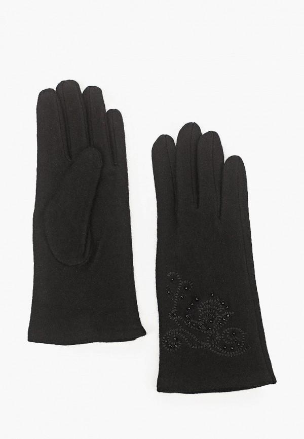женские текстильные перчатки labbra, черные