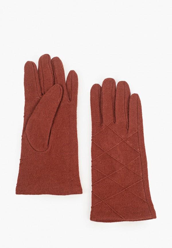женские текстильные перчатки labbra, коричневые