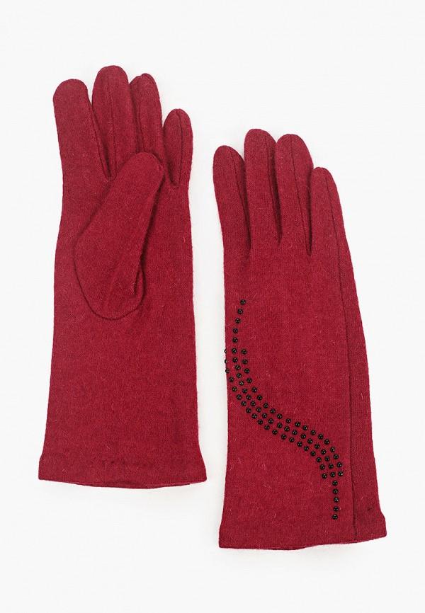 женские текстильные перчатки labbra, бордовые