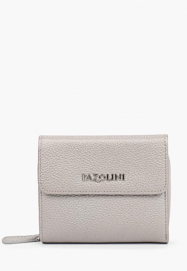 женский кошелёк pazolini, серый