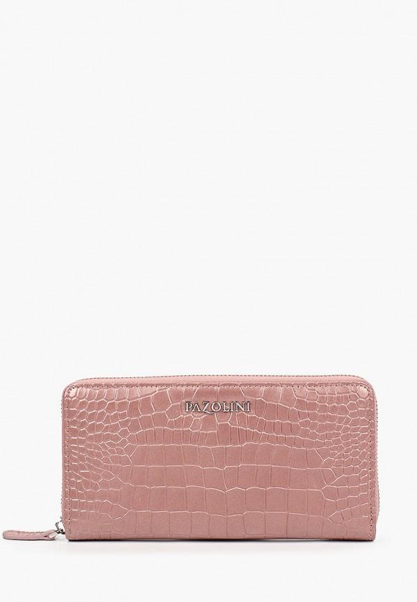 женский кошелёк pazolini, розовый