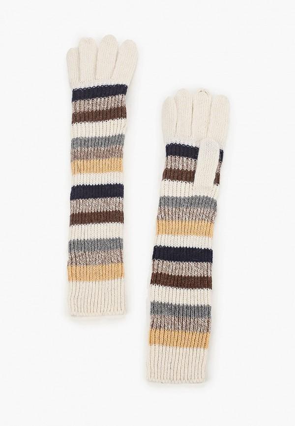 женские текстильные перчатки модные истории, белые