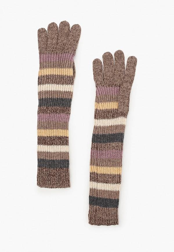 женские текстильные перчатки модные истории, коричневые