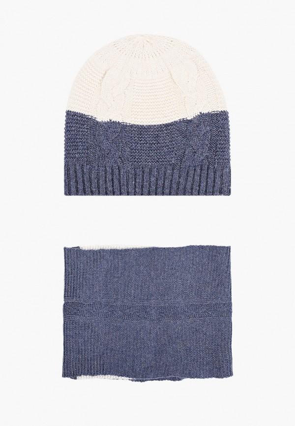 женский шарф модные истории, синий