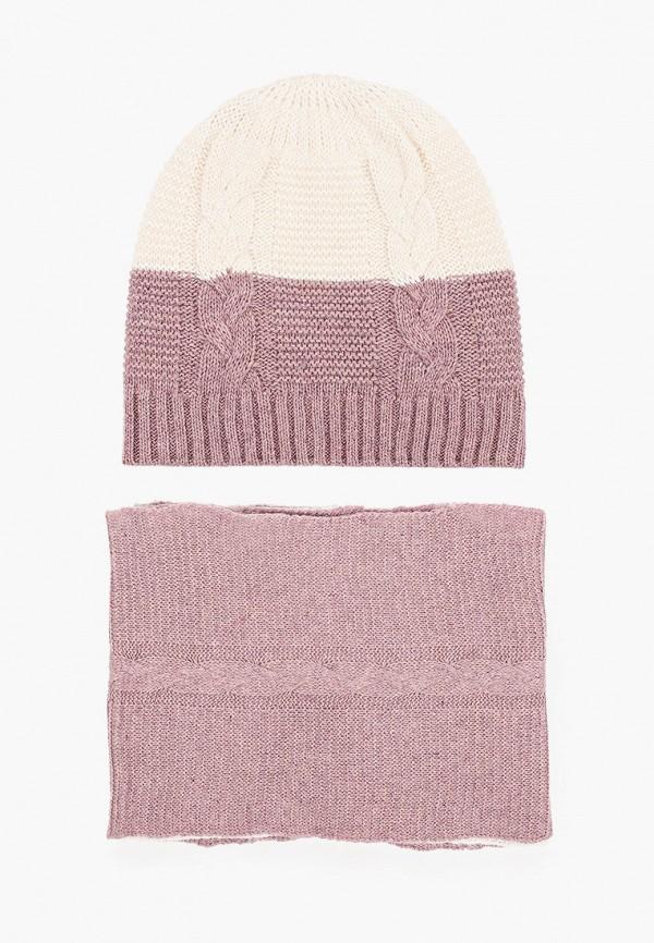 женский шарф модные истории, фиолетовый