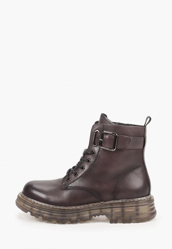 женские высокие ботинки mascotte, серые