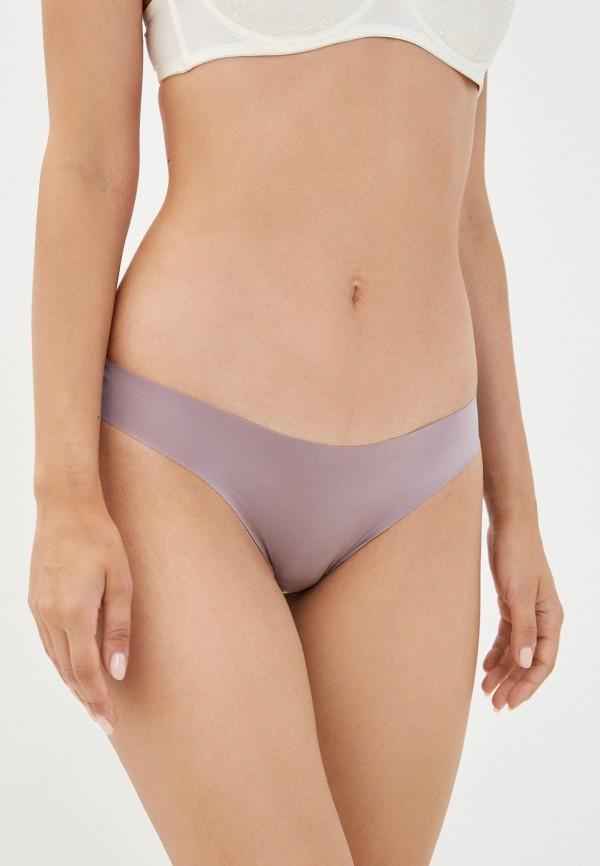 женские трусы-стринги intimissimi, фиолетовые