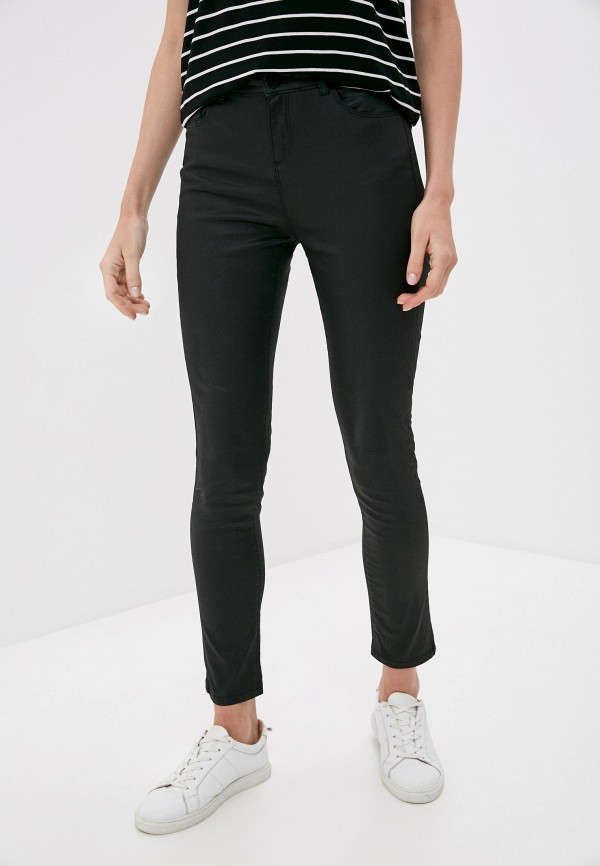 женские кожаные брюки u.s. polo assn, черные