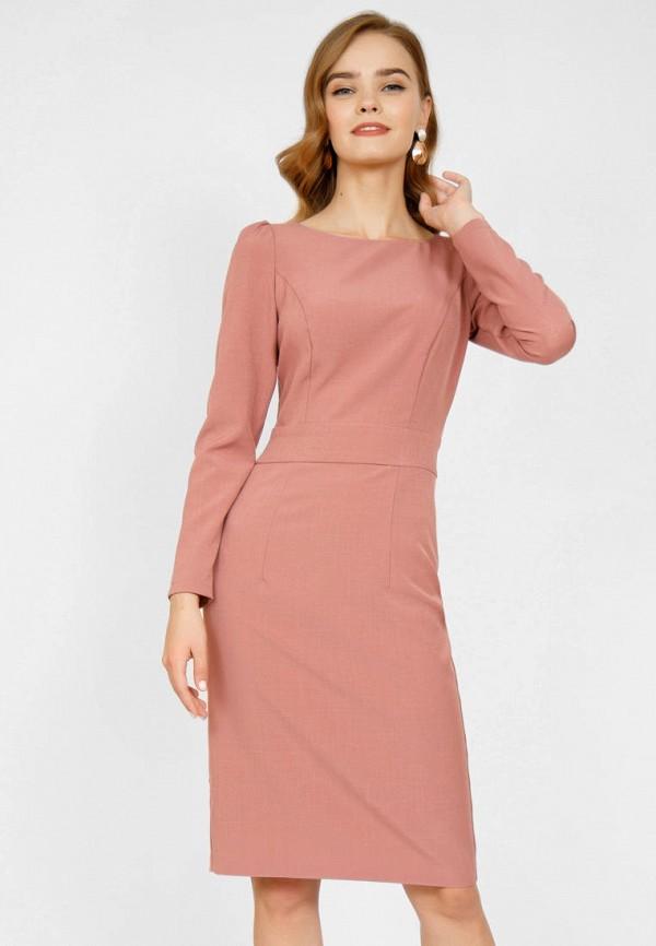 женское платье-футляр olivegrey, розовое