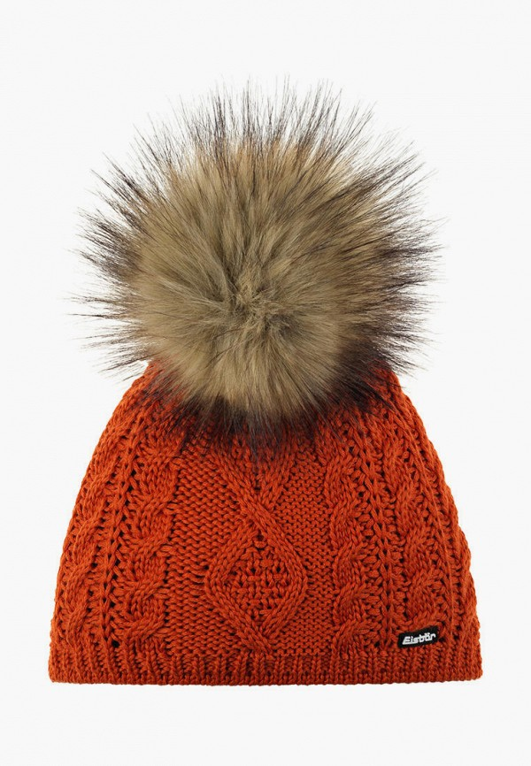 женская шапка eisbar, оранжевая