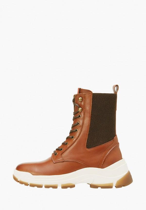 женские ботинки marc o'polo, коричневые