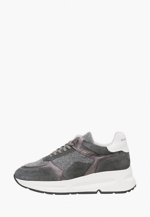 женские кроссовки marc o'polo, серые