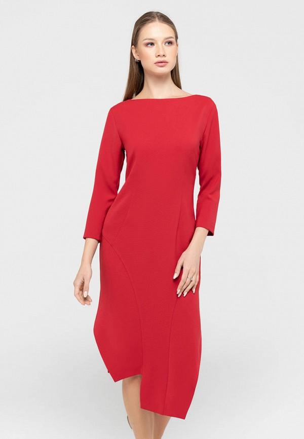 женское повседневные платье bru, красное
