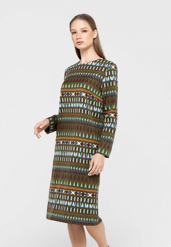 женское повседневные платье bru, хаки