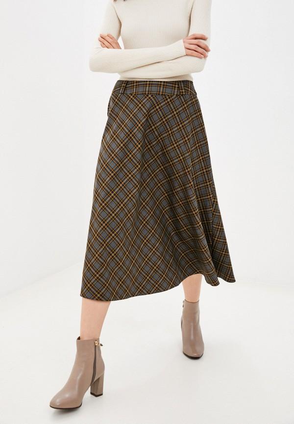 женская юбка-трапеции viserdi, серая
