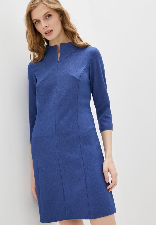 женское повседневные платье viserdi, синее