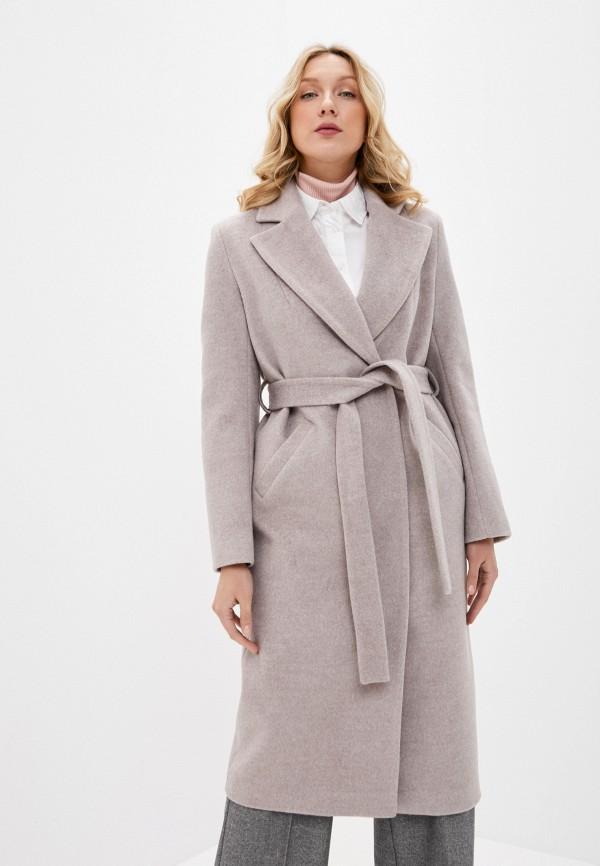женское пальто ovelli, бежевое